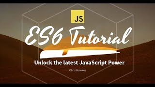 ES6 Tutorial - 1 Installing And Setting Up