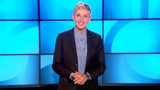 Ellen on United Airlines