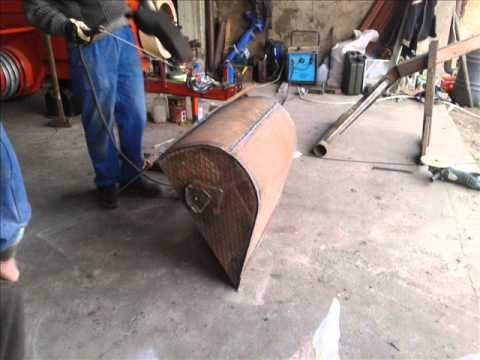 Budowa ładowacza na tył