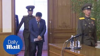 US citizen Kim Dong Chul detained in North Korea for spying - Daily Mail