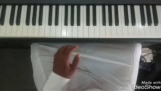 How To Play (Hymn 10) KRISTI OBA OLOGO - Piano lessons