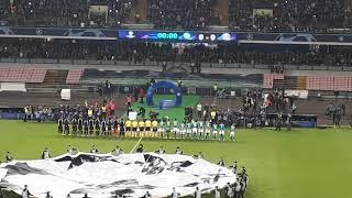 Napoli-Psg 1-1. Inno Champions!