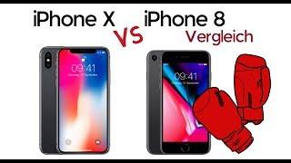iPhone 8 vs. iPhone X | Vergleich 2017