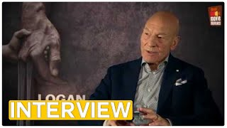 Logan - Patrick Stewart on comic books and super heroes | exclusive interview (2017)