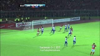 Liga Super 2014: Sarawak 0-1 JDT (25/6/14)