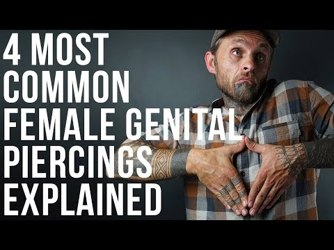 Xxx Mp4 4 Most Common Female Genital Piercings Explained UrbanBodyJewelry Com 3gp Sex