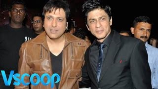 Shah Rukh Khan Reveals About His Inspiration Govinda #Vscoop