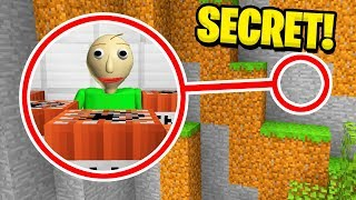 Minecraft : DESTROYING BALDIS SECRET BASE! (Ps3/Xbox360/PS4/XboxOne/PE/MCPE)