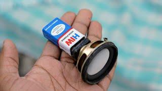 3 Brilliant Gadgets From 9V Battery | Life Hacks
