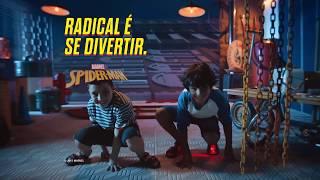 Grendene Kids - Nova Sandália Homem-Aranha com LED