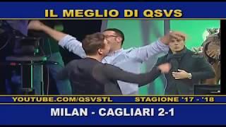 QSVS - I GOL DI MILAN - CAGLIARI  2-1 TELELOMBARDIA / TOP CALCIO 24
