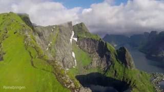 Lofoten hiking 2016 - Fløya/Djevelporten, Helvetestinden, Himmeltinden, Reinebringen, Kitinden