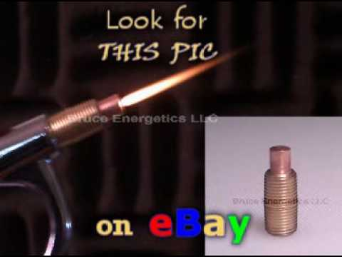 hho FLAME TIP Converts BlowGun into a Brown s Gas Torch