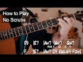 No Scrubs TLC Guitar Lesson