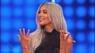 Kim & Kanye dress SEXY for THIS!   Celebrity Family Feud