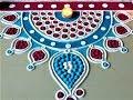 Innovative and Creative Border Rangoli Designs for Beginners|Diwali Rangoli by Shital Mahajan.