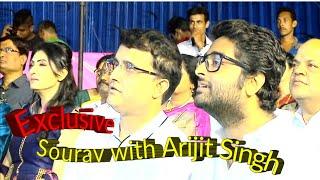 Mishti Katha Arijit Singh and Sourav Ganguly |