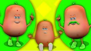 Aloo Kachaloo Hindi Poem   3D Animation Rhymes   Hindi Nursery Rhymes