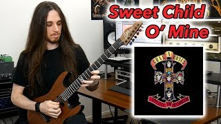 Guns N' Roses - Sweet Child O' Mine Solo with Bias Amp 2!