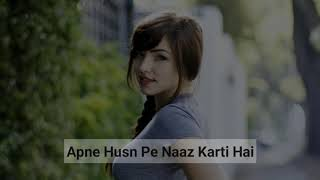 Arz Kiya Hai 😂 | Attitude Girl Insult | Funny WhatsApp Status