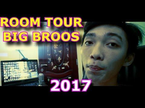 ROOM TOUR 2017 ! BIG BROOS ( SPECIAL 50 K SUBS )