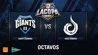 GIANTS GAMING VS SOUL GAMING - Octavos de Final - Copa CoD - #CoDpaOctavos