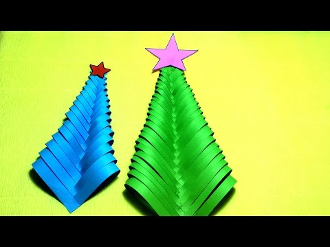 DIY Paper Christmas Tree    Christmas Tree Ornaments! Christmas Tree Decor