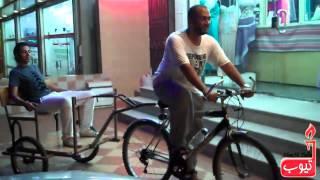 عربة ركوب للدراجة الهوائية: المتعة مع أولادي :)