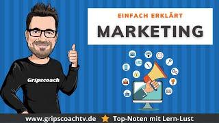 Marketing einfach erklärt - Prüfungswissen für Azubis ★ GripsCoachTV