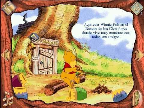 Libro Animado Interactivo Winnie Pooh Español Parte 1
