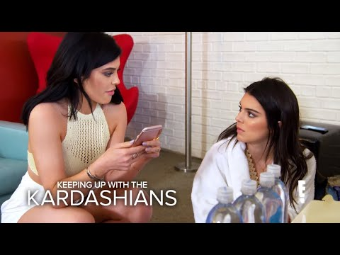 KUWTK Rob Re Gifts Kendall s Present to Blac Chyna E
