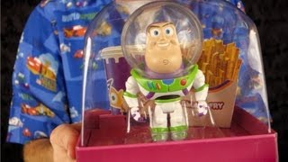 """Toy Story """"Small Fry"""" Buzz Lightyear Toy Unboxing & Review"""
