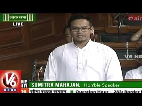 Lok Sabha Session Live | Question Hour : Border Road Organisation | V6 News