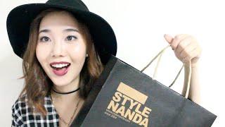 STYLENANDA Korean Fashion and Beauty Haul