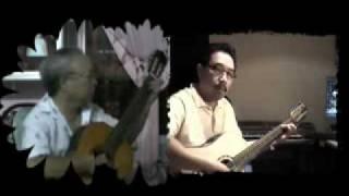 Hoài Cảm.Song tấu guitare qua youtube.