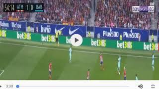اهداف مباراة اتلتيكو مدريد وبرشلونة 2017