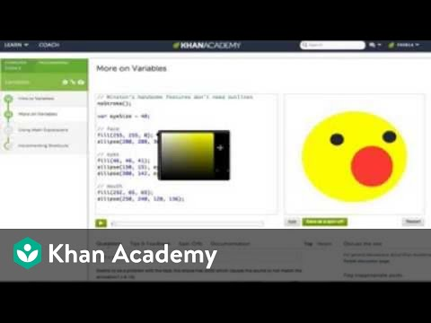 A Tour of Programming on Khan Academy