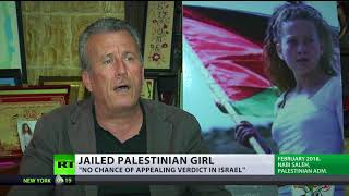 Ahed Tamimi sentenced to 8 months for slapping IDF soldier