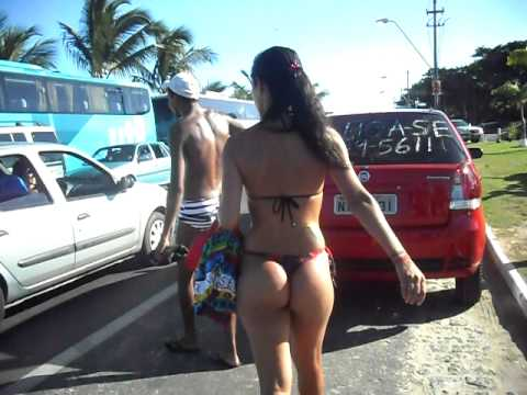 A gostosa da praia em Porto Seguro Bahia