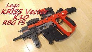Lego KRISS Vector K10 (Field Strip RBG) NON COPYRIGHT