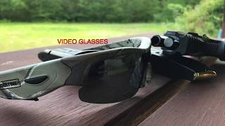 Moultrie HD Video Glasses At The Shooting Range
