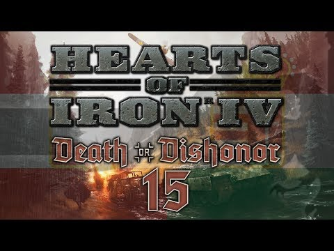 Hearts of Iron IV DEATH OR DISHONOR #15 NUCLEAR BLITZ - HoI4 Austria-Hungary Let's Play