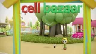বাজার একটাই - সেলবাজার! 2013 Cellbazaar.com Animated Commercial