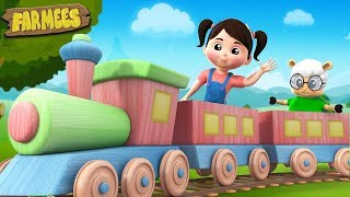 Working On The Railroad | Kindergarten Nursery Rhymes For Children | Cartoon Song by Farmees