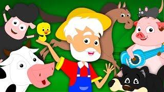 Old MacDonald Had A Farm | Farm Song | Nursery Rhymes Song For Kids | Baby Rhymes