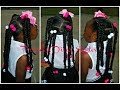 Download Video Download 4 slick Ponytails With Braids | Using 1 pack Of Expression Hair 3GP MP4 FLV