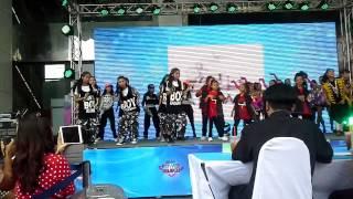 Baby Jeed เต้นเพลงเปิดงาน Power dance contest 2014