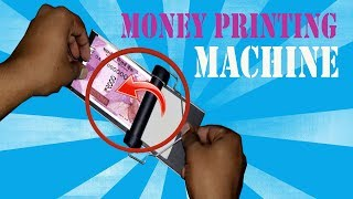 Convert 1000 Rs note to 2000 Rs note at Home (Magic Money printer prank)