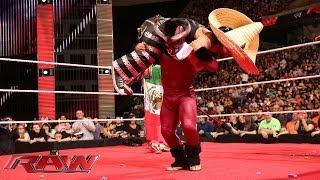 Los Matadores & El Torito celebrate Cinco de Mayo: Raw, May 5, 2014
