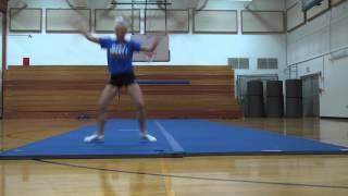 Kelli Kallenborn Gannon Cheer tryout